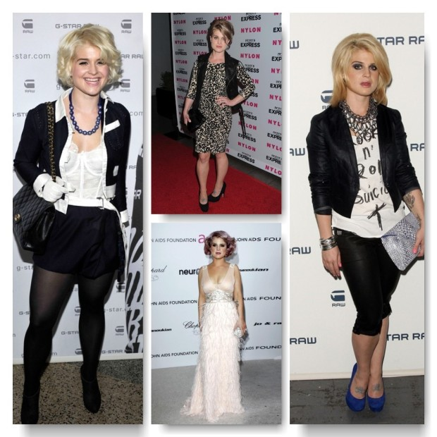 Kelly Osbourne Fashion Evolution