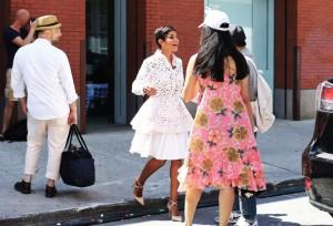 (right) Comme des Garçons dress