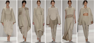 Collection by Mia Jianxia Ji, M.F.A. Fashion and Knitwear Design, Photo by Randy Brooke